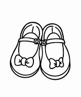 Coloring Shoes Pages Shoe Printable Jordan Pretty Clipart Booties Drawing Sheets Bows Sheet Drive Clip Sandal Souls Babies Running Air sketch template