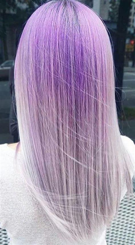 Pastel Lavender Purple Hair Color Pinterest Purple