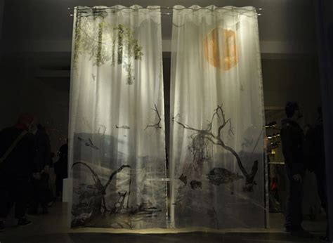 scenic drapes the illusion of scenic landscapes outside your window deluge 3d curtains freshome com