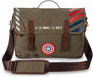 Captain America Military Messenger Bag