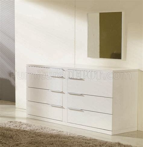 high gloss lacquer bedroom furniture modern 5 pc bedroom set alaska white