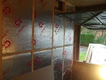 Insulate Bedroom Floor Garage by Convert Garage Into A Bedroom Construction Diary Before