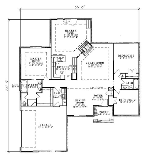 traditional floor plans harrahill traditional home plan 055d 0031 house plans