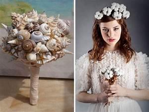 Bouquet Fleur De Coton : la mari e qui n 39 aimait pas les bouquets de fleurs ~ Teatrodelosmanantiales.com Idées de Décoration