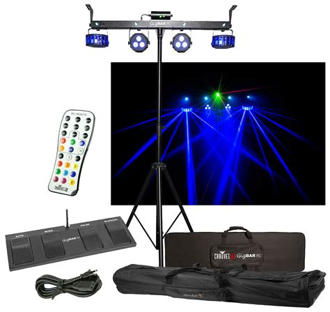 dj lighting packages chauvet dj lighting gigbar irc derby laser par strobe