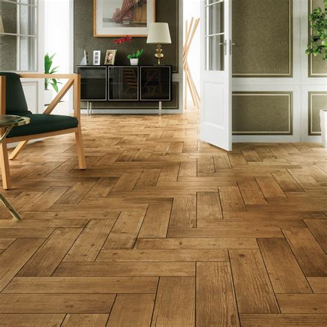 arteak castano wood effect tiles porcelain superstore