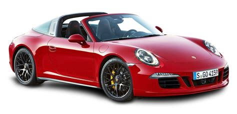 porsche png red porsche 911 targa 4 gts car png image pngpix
