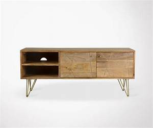 Pieds De Meuble En Bois : pied de meuble carre metallique ~ Teatrodelosmanantiales.com Idées de Décoration