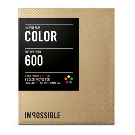Impossible Instant - impossible instant color with gold frames for