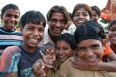 Indian Person Smiling