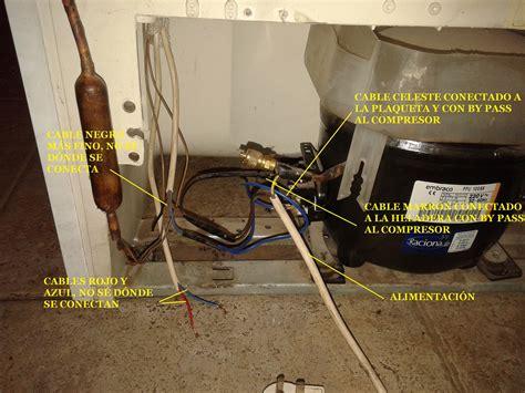 solucionado conexion electrica frigorifico ariston yoreparo