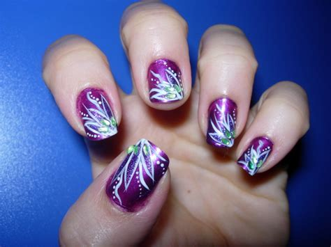 Purple Nail Designs And Nail Art