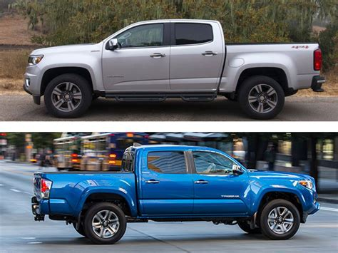 Chevrolet Tacoma by Chevrolet Colorado Vs Toyota Tacoma Which Is Best