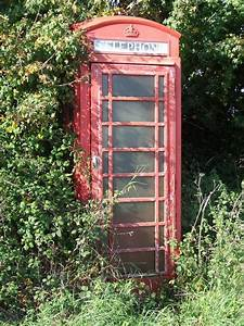 File Old Phone Box - Geograph Org Uk