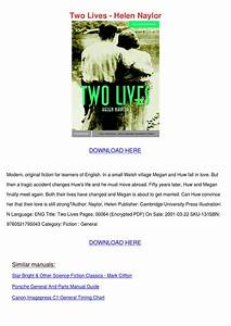 Two Lives Helen Naylor By Milagromondragon