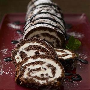 Check out Ice-Cream Cake Roll. It's so easy to make ...