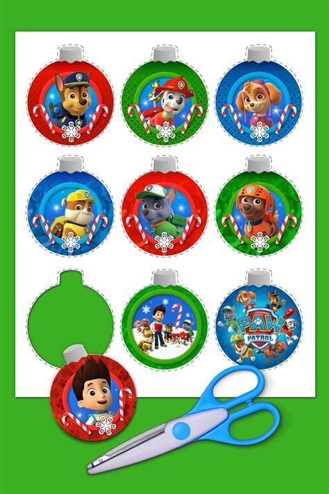 paw patrol christmas ornaments paw patrol christmas paw