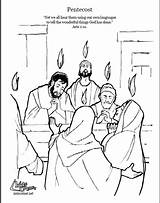 Coloring Bible Pages Pentecost Story Sunday Crafts Holy Spirit Stories Activities Preschool Church Catholic Script Kidscorner Reframemedia Children Sword Adult sketch template