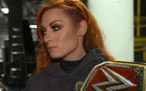 becky lynch sends interesting message   wwe contract