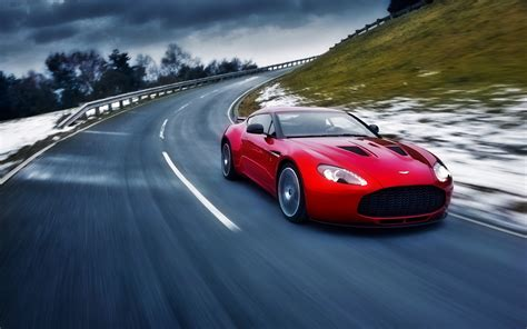2012 Aston Martin V8 Vantage Full Hd Wallpaper And