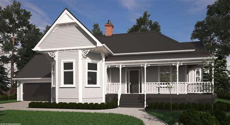 Victorian Bay Villa - HOUSE PLANS NEW ZEALAND LTD