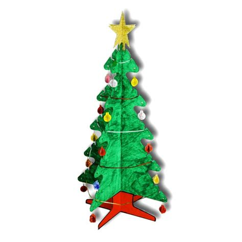christmas tree out of cardboard cardboard christmas tree creative activity 7510