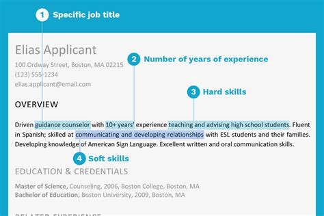 Define Resume Summary by Resume Profile Exles For Many Openings