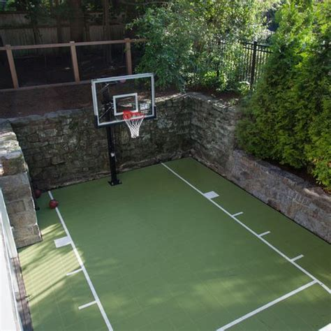 How Much Does A Backyard Basketball Court Cost by Best 25 Outdoor Basketball Court Ideas On