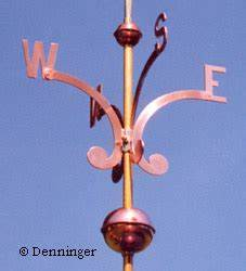 Denninger directionals nsew cardinals for weathervanes for Weathervane directional letters