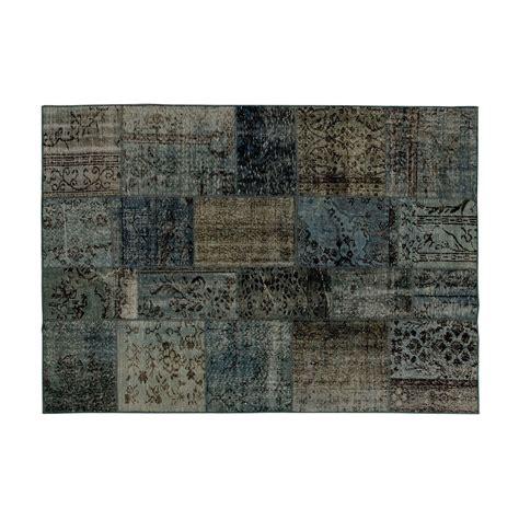 tapis anatolian patchwork moyen  amini lovethesign