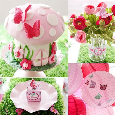 fairy themed birthday party popsugar moms