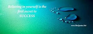 Facebook Cover Image - Believe Yourself - TheQuotes.Net
