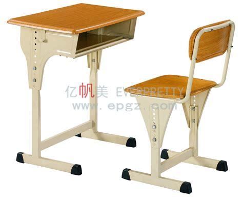 China 2015 Guangzhou Furniture Classroom Desk And