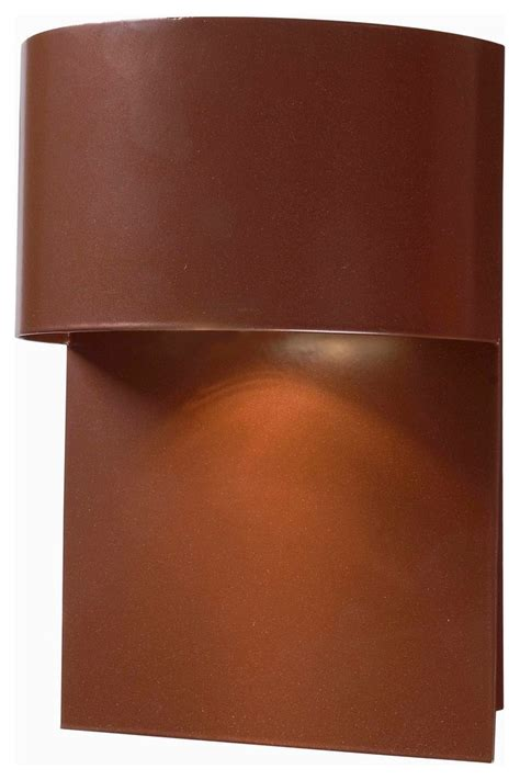moonlit  light dark sky lantern copper finish transitional outdoor wall lights  sconces