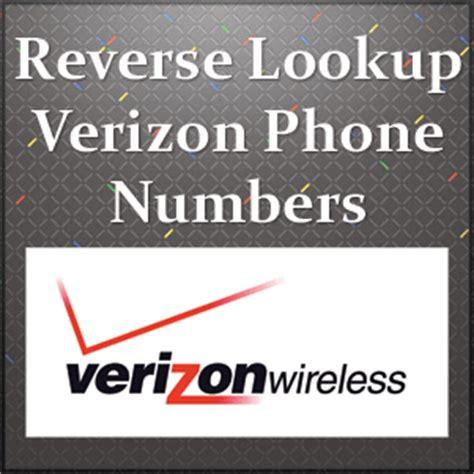 whose phone number is this free verizon lookup free