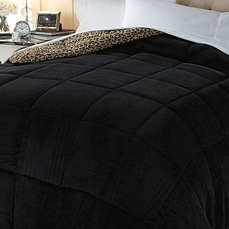 1online concierge collection reversible microfleece comforter best bed bath 2016