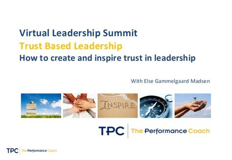 create  inspire trust  leadership