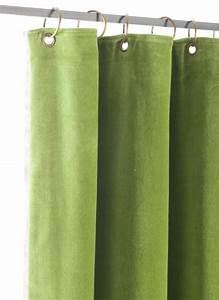 Rideau Velours Vert : tosca rideau en velours vert amande ~ Teatrodelosmanantiales.com Idées de Décoration