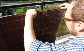 balkon sichtschutzmatte balkon sichtschutz sichtschutz selbst de