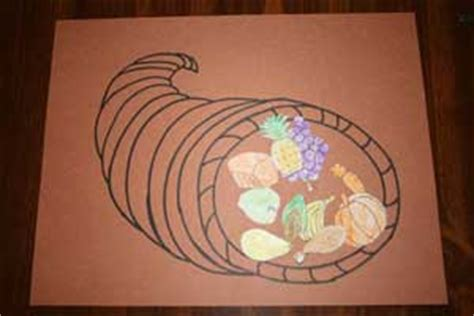 thanksgiving crafts for all network 438 | cornucopia craft