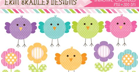 Erin Bradley Designs New! Lots Of Easter & Spring Clipart