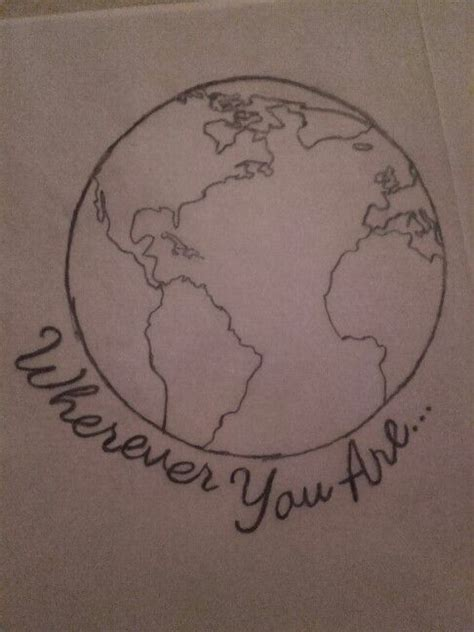 trending globe tattoos ideas  pinterest world