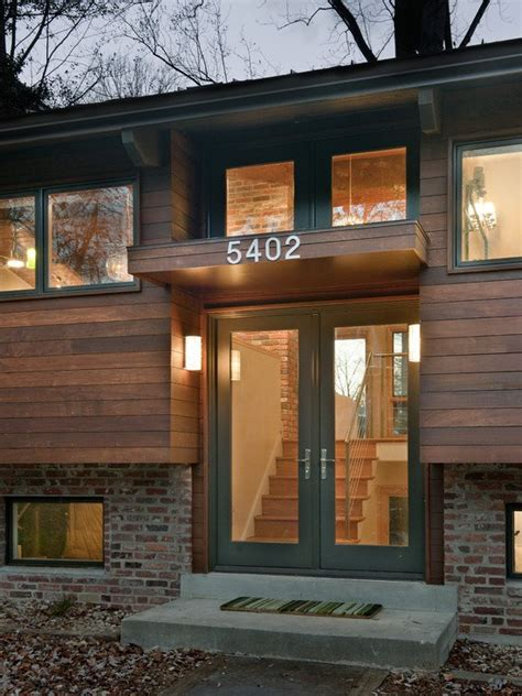 Images Split Level Exterior by Split Level House Entryway Exterior So Replica Houses