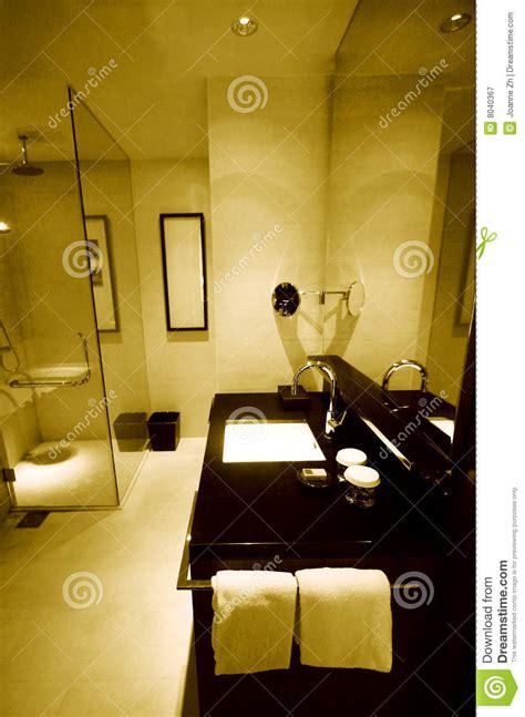 luxury resort hotel bathrooms royalty  stock