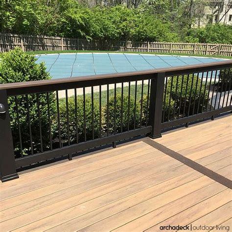 timbertech low maintenance decking in tigerwood as a