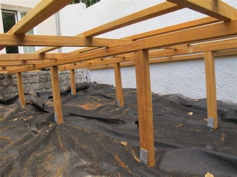 realiser une terrasse en bois sur pilotis terrasse bois sur pilotis permis de construire nos conseils