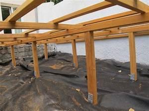 terrasse bois sur pilotis permis de construire nos conseils With construire terrasse sur pilotis