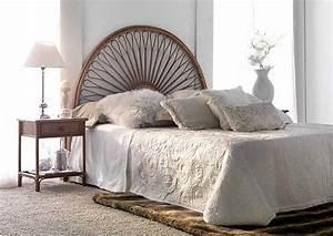 Lit En Osier : tete de lit en osier tete lit osier sur enperdresonlapin ~ Teatrodelosmanantiales.com Idées de Décoration