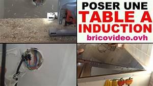 Peut On Brancher Un Four Encastrable Sur Une Prise Normale : installer une table de cuisson induction vitroc ramique ~ Dailycaller-alerts.com Idées de Décoration