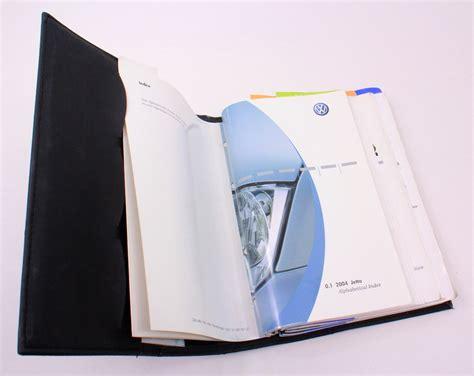 volkswagen vw jetta owners manual book booklet mk